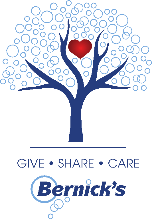 Bernick's Tree: Give, Share, Care.