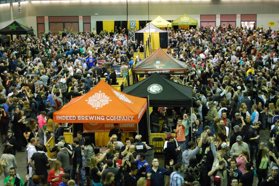 Craft Beer Tour Crowd - The Importance of Community Involvement through Local Events