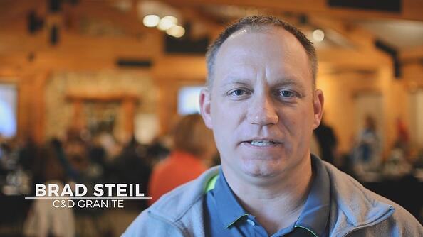 Brad Steil from C&D Granite