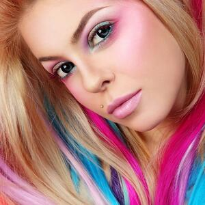 All about Mortar. The Strategy Based Message that Holds Your Brand Together | Young Girl with Colorful Hair