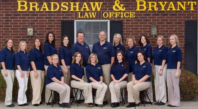 Bradshaw & Bryant Law Office Staff Photo