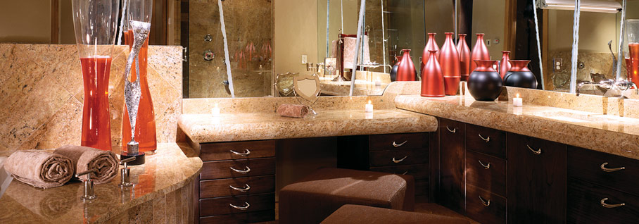 C&D Granite Bathroom Countertop