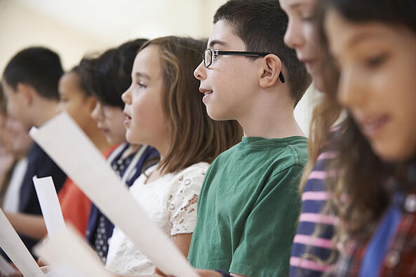 How to Tie Your Radio Marketing Plan Into Other Efforts, Kids Singing in a Choir
