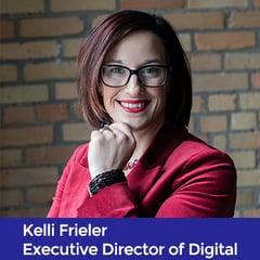 Kelli Frieler, Executive Director of Digital