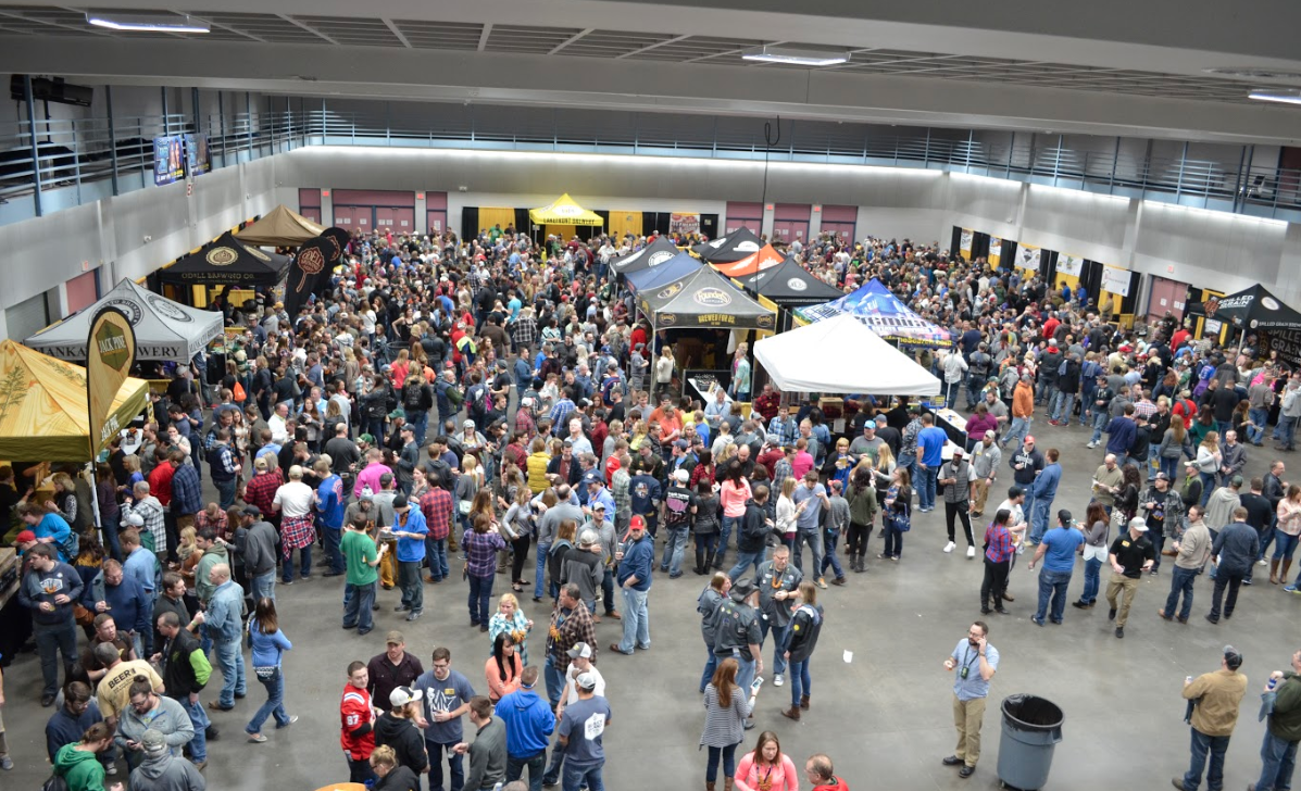 Craft Beer Tour in St. Cloud aerial shot