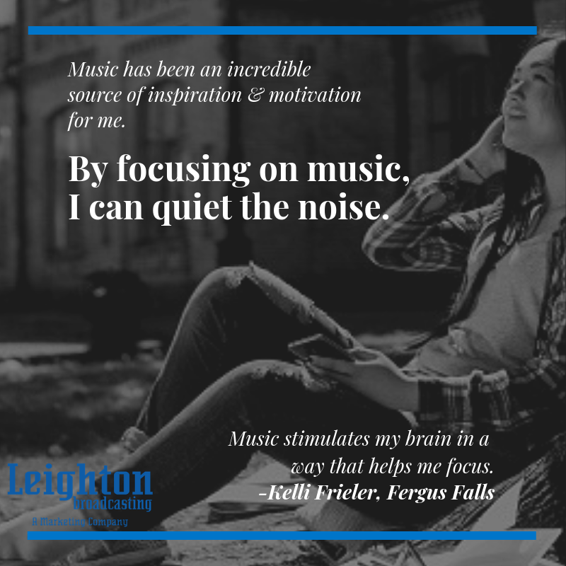 Music is an incredible source of inspiration