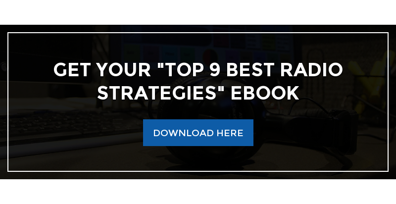 "Get Your ""Top 9 Best Radio Strategies"" eBook Download Here"